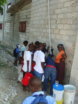 Locals Receiving Clean Water