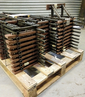 Portable track ready for dispatch to GLM