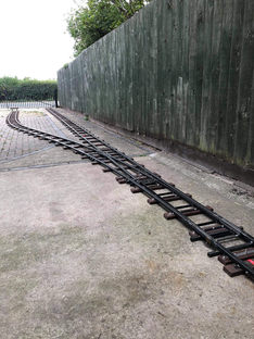 Points Layed at Flair Light Railway