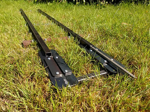 Semi-Permanent Joining Panel 7 1/4 Gauge Straight Jubilee Portable Track