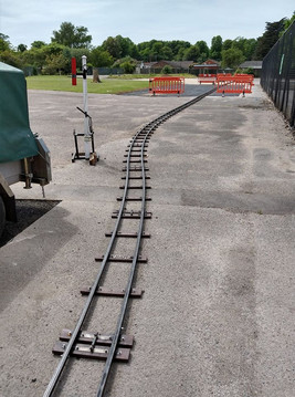 48 lengths of track used in total
