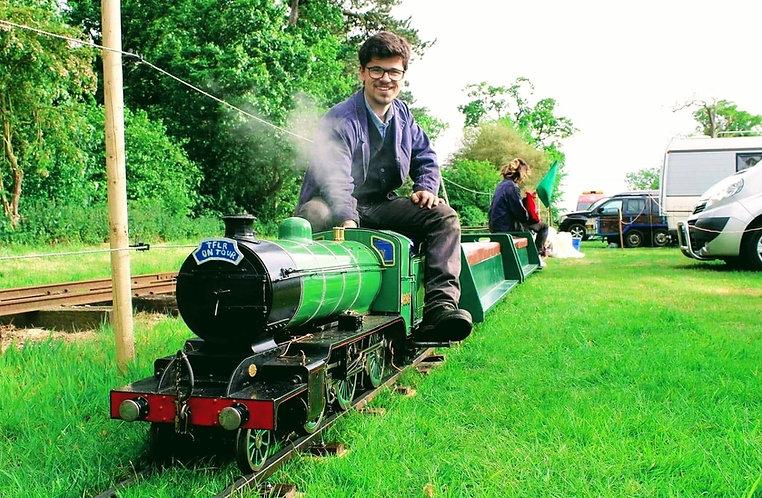 Miniature Railway Workshop TFLR on tour
