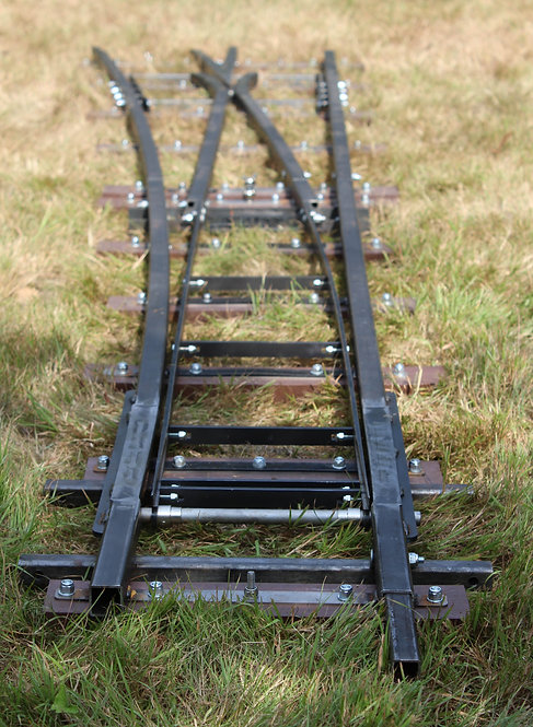 7 1/4 Gauge Points Portable Track
