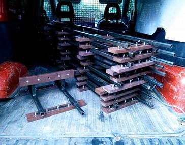 Portable Track Order van delivery MRW
