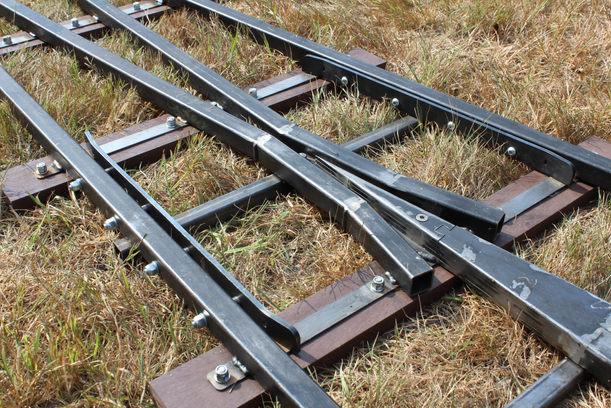 Check Rail and Frog