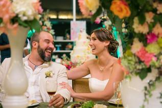 Bohemian Colorful Civil Wedding