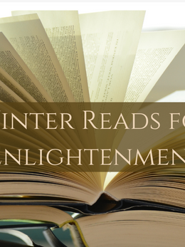 Winter Reads for Enlightenment - We Blog The World by Renee Blodgett