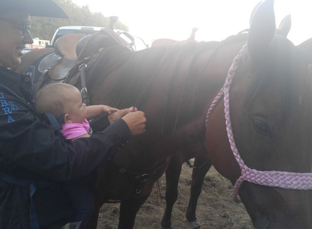 Mom Guilt and Horseback Riding
