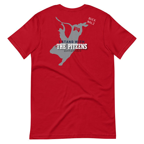 I Stand With the PITZENS T-shirt