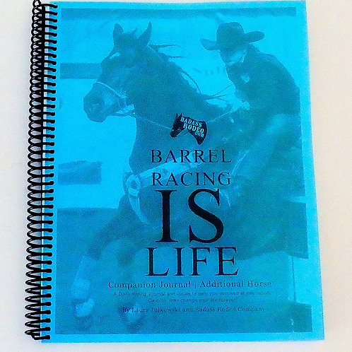 Barrel Racing Journal Horse Record Book Daily Riding Journal Horse Book Barrel Racing IS Life, Barrel Racing Picture