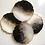 Thumbnail: Black White & Gold 4 piece coaster set