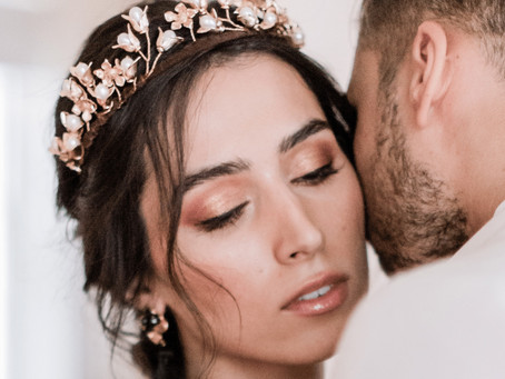 Bridal Headpieces - 2021 Trends by Hermione Harbutt