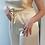 Thumbnail: Wide legged silk trousers