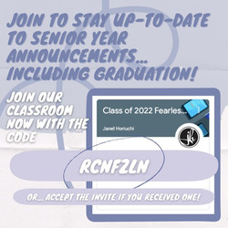 Join our Google Classroom now!