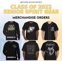 Class of 2022 Spirit Gear