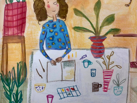 Review of my Domestika Class with Sarah Van Dongen