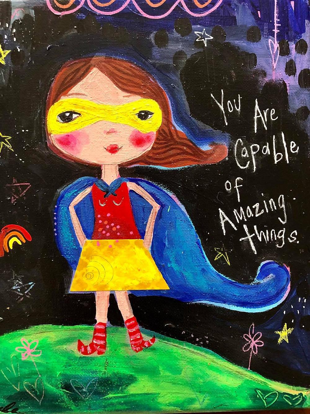 Inspirational Girl Art