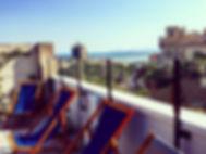 Panoramic terrace, B&B Fra Cielo e Mare Cagliari www.fracieloemare.com