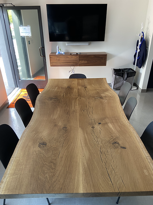 White Oak Conference Table Top