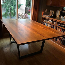 White Oak Table for a homeowner
