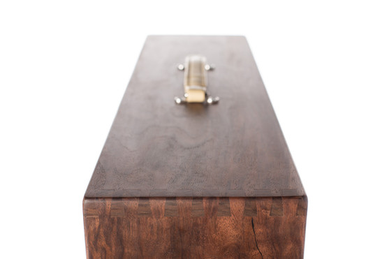 Black Walnut Dovetail Guitar Amplifier Box