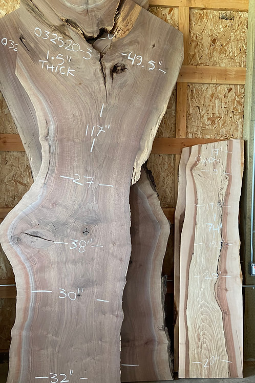 032520-3 Oregon Black Walnut