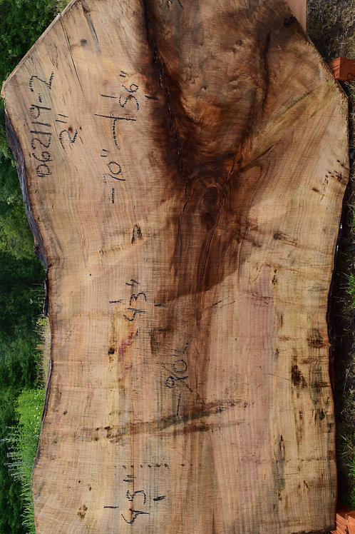 "062129-2 MPL Maple Slab 2"" Thick 43"",43"",56"" x 70"""