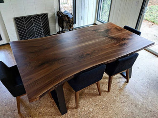 Black Walnut Book Matched Table