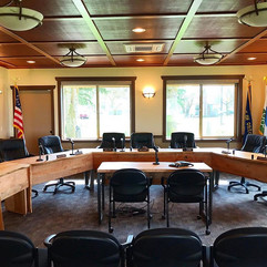 Maple Conference Table for Port of St Helens