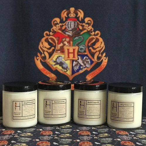 Limited Edition Hogwarts House Candles