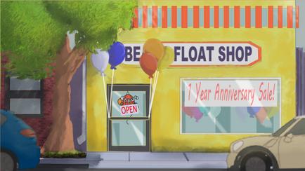 Love Floats Beau's Float Shop Ext.