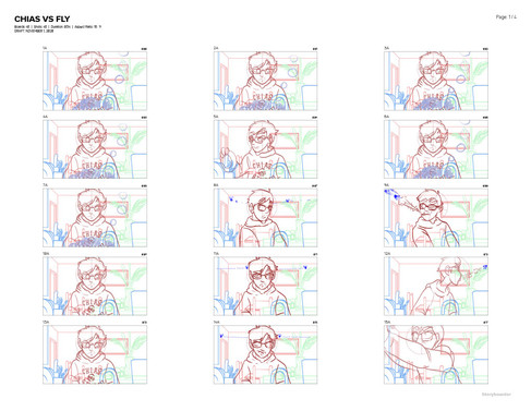 Chias vs Fly Storyboard 001