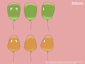 Love Floats Balloons Turnaround Sheet