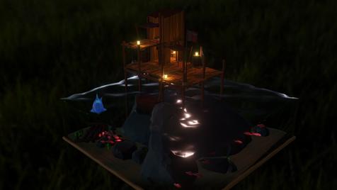 Sea shack (Night)