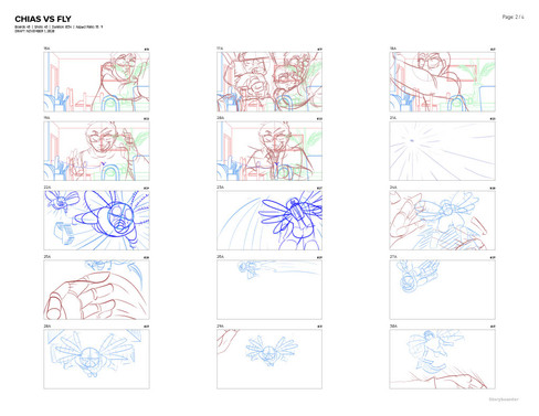 Chias vs Fly Storyboard 002