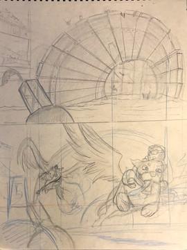 The (Un) Prophecy Concept Sketches