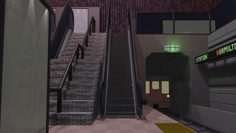 Subway Escalator.avi