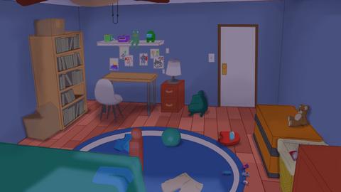 Love Floats - Child's Bedroom