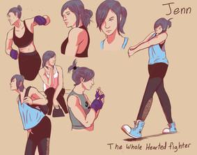 Jenn the Boxing Girl