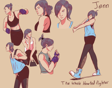 Jenn the Boxing Girl