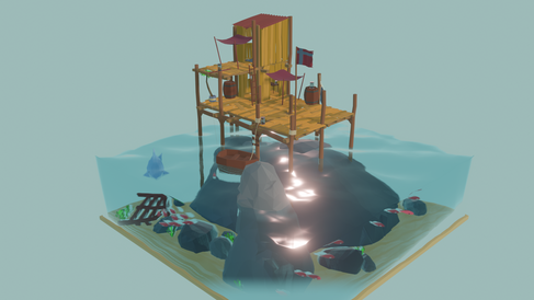 Sea shack (Day)