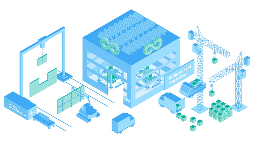 Smart Shaped Software cover image - Factory where low-code and blockchain help Smart Shaped deliver quality software through partnerships and cooperation.