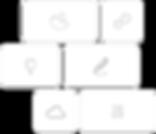 Icone approccio low-code.
