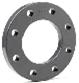 PVC Backing ring PN10/16