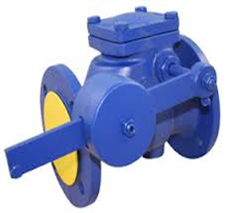 Cast Iron Flanged Swing Check Valve c/w Lever Arm (PN16 –10°C+120°C)