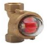 Bronze Flow Indicator / Rotary TypeFxF BSP(PN5–10° C+110° C—FBSP Ball Type)