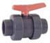 Double Union Ball valve x FBSP PE– EPDM  PN16 - PN10 Economy