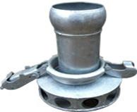 Lever Lock Galvanised Steel Strainer x Male