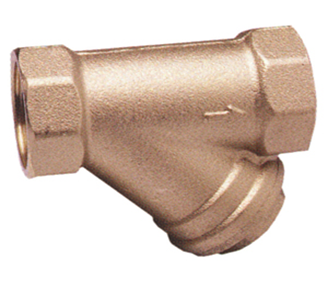Brass Y Strainer (16 Bar rated –0° C  + 90° C—FBSP)