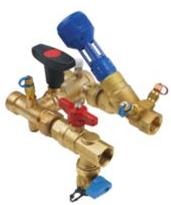 DZR H Block C/W Fixed orifice (PN25 –10°C+120°C—FBSPP Ends)